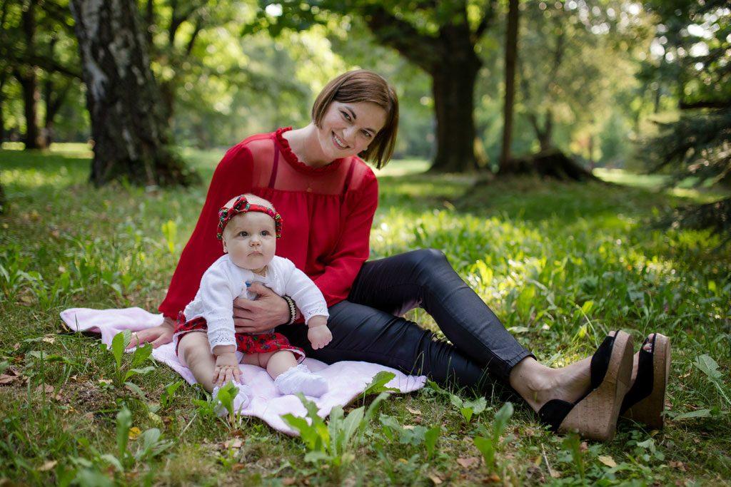 Justyna - sesja rodzinna